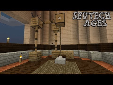 The Real Elevator of SevTech : SevTech Ages Lp Ep #19 Minecraft 1.12