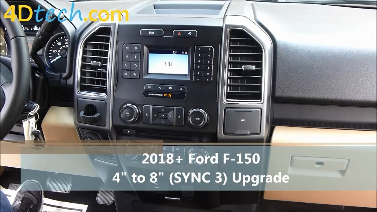 4 To 8 Upgrade W Sync 3 2018 Ford F150 2020 Ford F250 F350 F450 Youtube