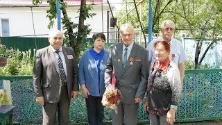 Кореновск. Ветеран труда Анатолий Шапошник отметил день рождения.