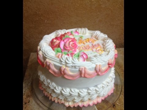How To Make Fancy Cake Borders