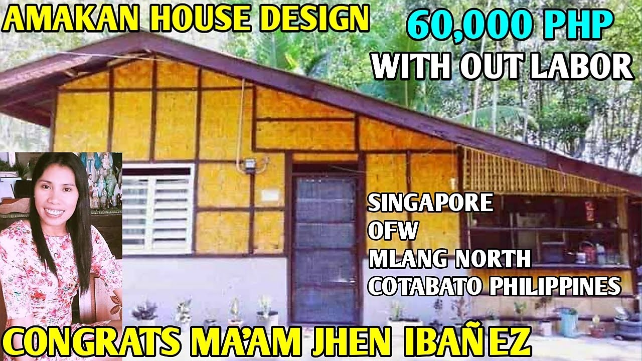 VLOG 125 OFW SIMPLE HOUSE,Amakan House Design Half Concrete,CONGRATS MA'AM  JHEN,SINGAPORE OFW