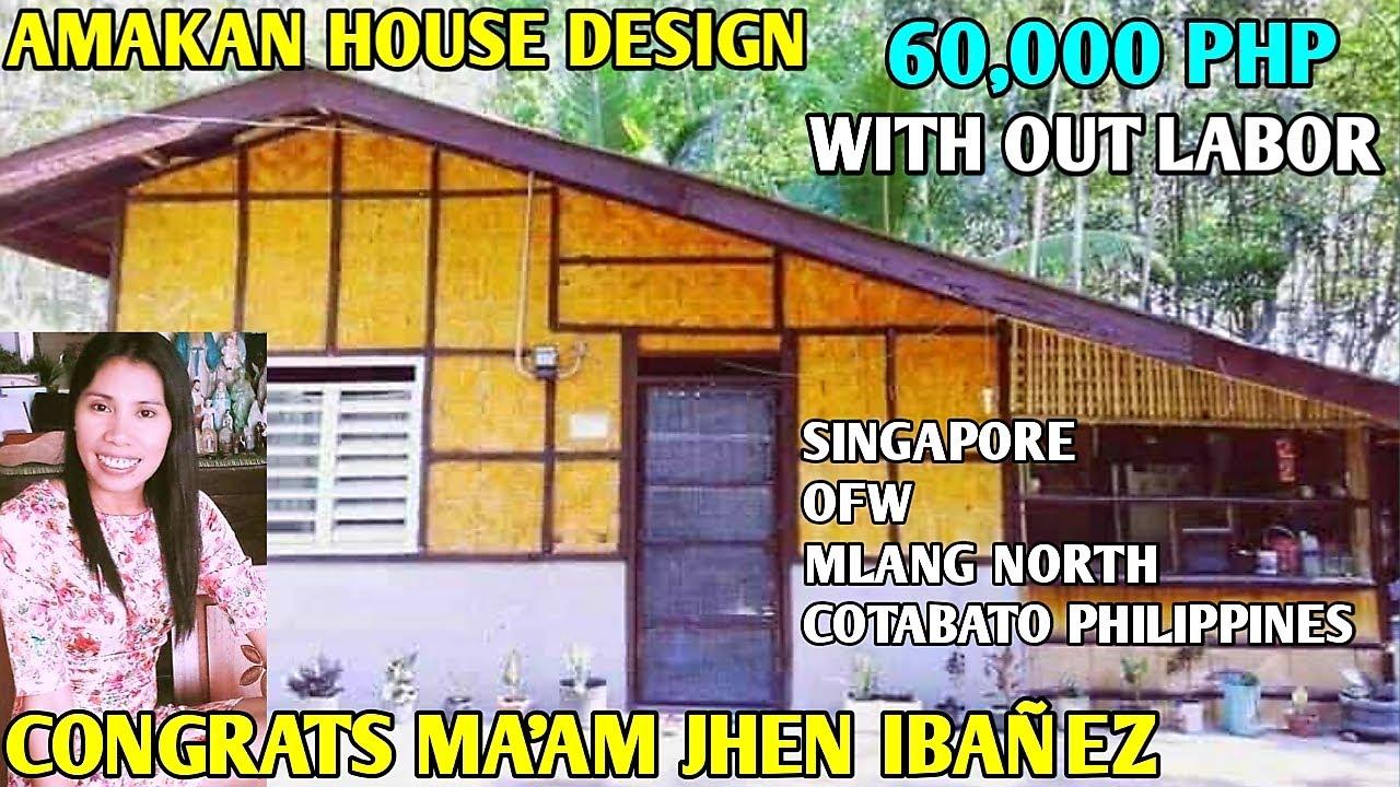 OFW SIMPLE HOUSE,Amakan House Design Half Concrete ...