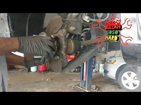 Dodge avenger and Chrysler 200 front hub replacement