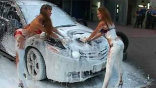 Эротическая мойка машин