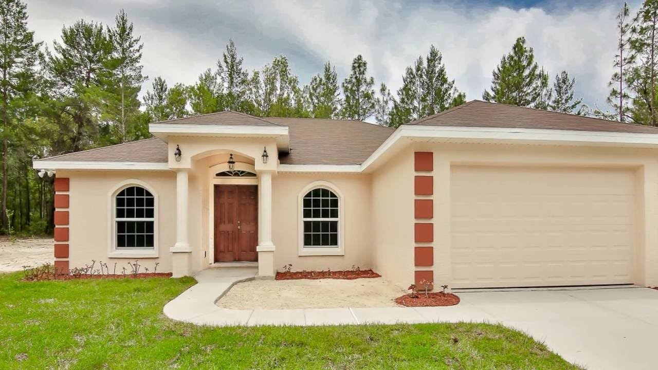Custom Built Home By Armstrong Homes Of Ocala Youtube