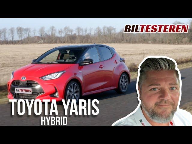 Toyota Yaris Hybrid med 450 kg på krogen (test)