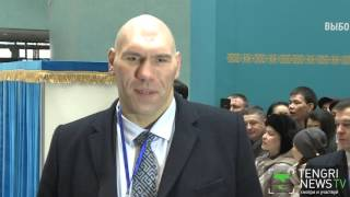 Валуев и Кобзон поделились впечатлениями о ходе выборов в Казахстане