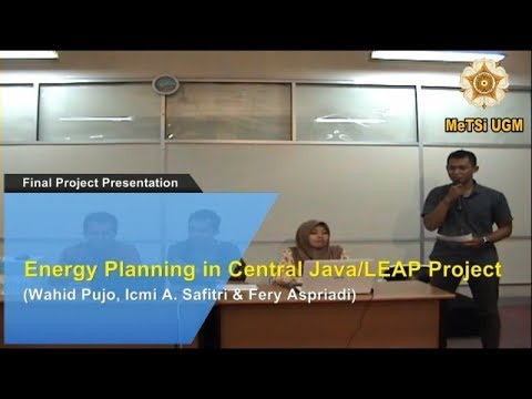 4 Energy Planning in Central Java / LEAP Project