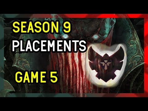 Game 5 - Season 9 Support Placements League of Legends - Support PYKE thumbnail