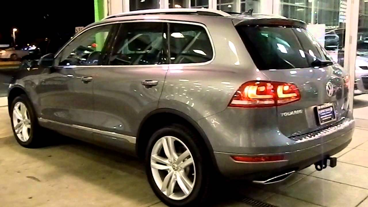 Canyon Gray 2011 Vw Touareg Tdi Executive Eastside
