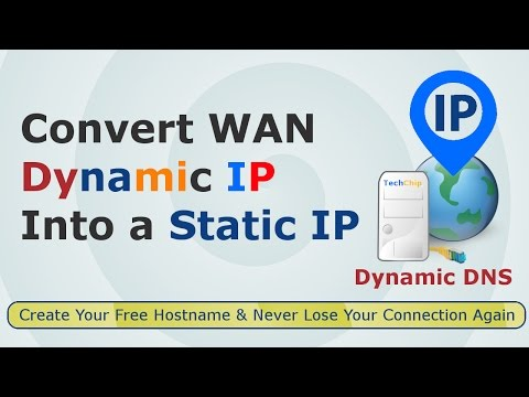 [Hindi] How to Create Static Host for Dynamic IP | How to make WAN's Dynamic IP address static
