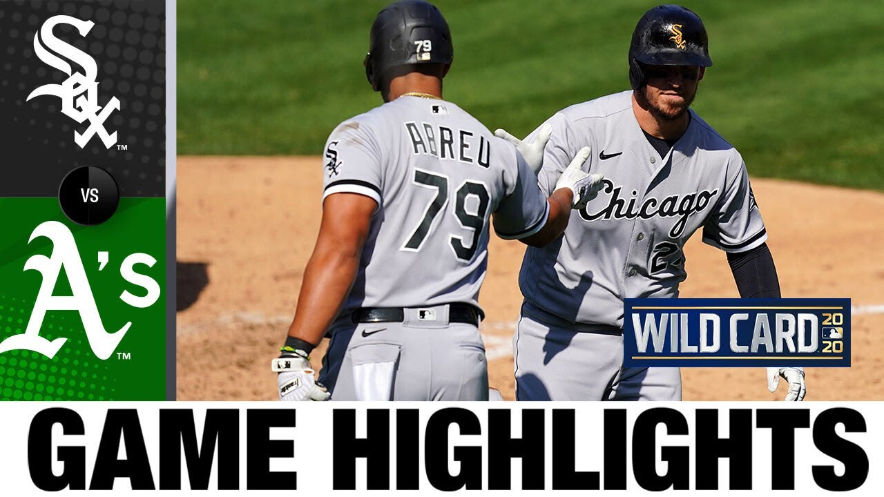 White Sox hit three homers in Game 1 win | White Sox-A's Game 1 Highlights 9/29/20