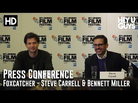 Foxcatcher Press Conference in Full - Steve Carell & Bennett Miller