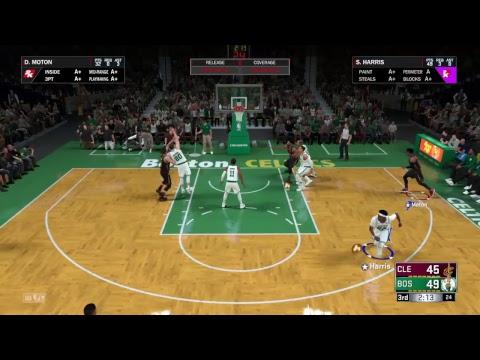 NBA2K18 Cashout.Dave vs Shawn Harris Rd 2
