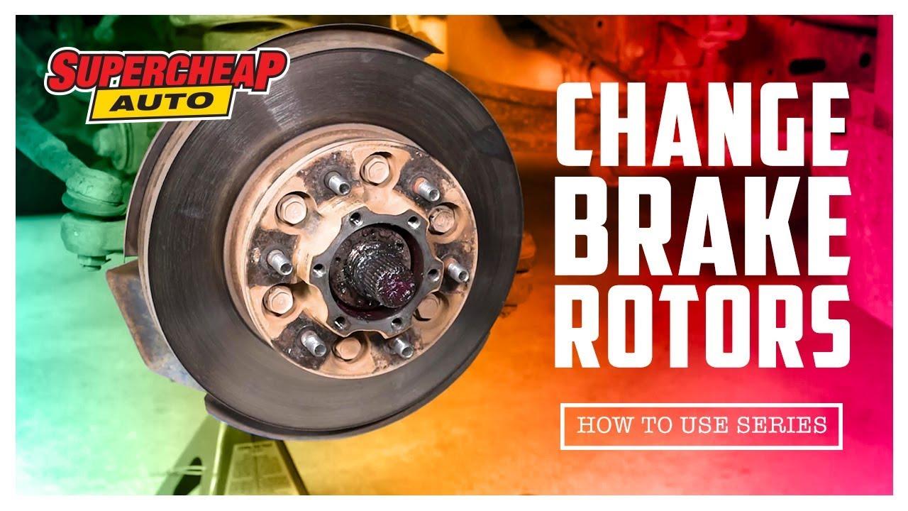 how to change brake rotors
