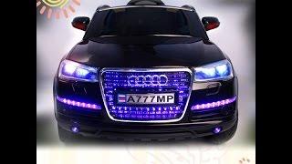 "видео: Электромобиль ""Audi A777MP"" - Видео Обзор"