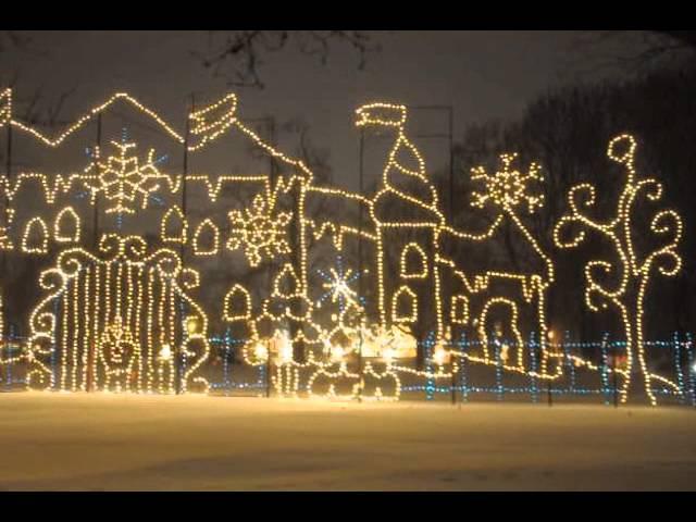 Capital Holiday Lights in the Park, Washington Park, Albany NY