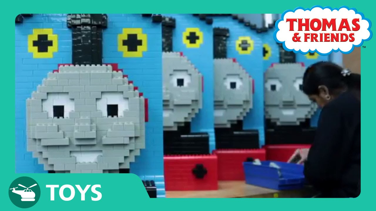 Mega Bloks Thomas and Friends Builds: Behind the Scenes