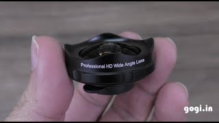 BlitzWolf BW-LS3 Wide Angle Lens review - 120 degree lens for smartphones