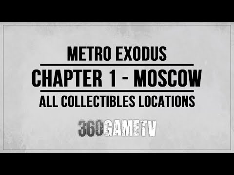 Metro Exodus Chapter 1 Moscow Collectibles Locations (Diaries / Postcards) - Collectibles Guide