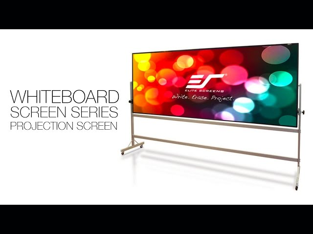 Elite Screens WhiteBoardScreen Thin Edge Series Screen