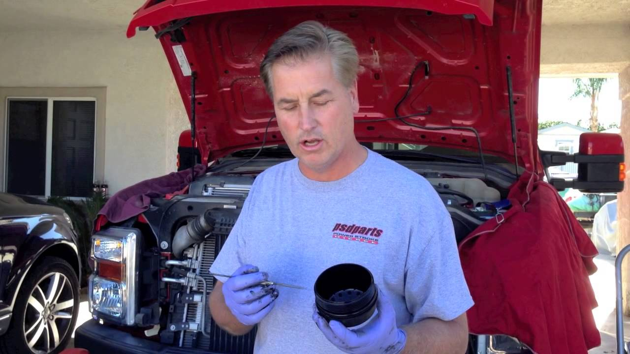 Ford 64 60 Diesel Oil Change Questions And Problems Ive Seen 03 F250 Fuel Filter Youtube