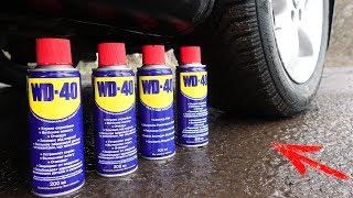 EXPERIMENT: CAR VS WD40