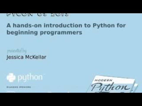 A hands on introduction to Python for beginning programmers