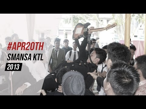 #APR20th The Farewell Party of SMANSA KUALA TUNGKAL