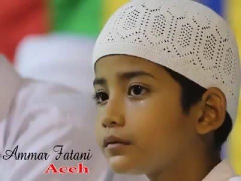 suara merdu anak aceh membaca al-qur'an