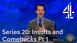 The greatest insults and comebacks from Series 20 Pt 1 | 8 Out of 10 Cats Does Countdown