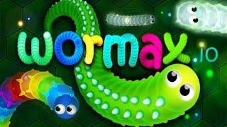 Wormax.io - World Record 70K+ | World Biggest Worm w/ Wormaxio Epic Gameplay