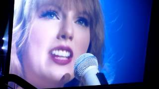 TAYLOR SWIFT - EYES OPEN. LIVE. AUCKLAND, NZ 17TH March.