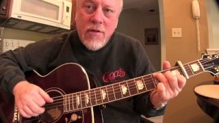 If You Could Read My Mind Gordon Lightfoot Guitar Lesson