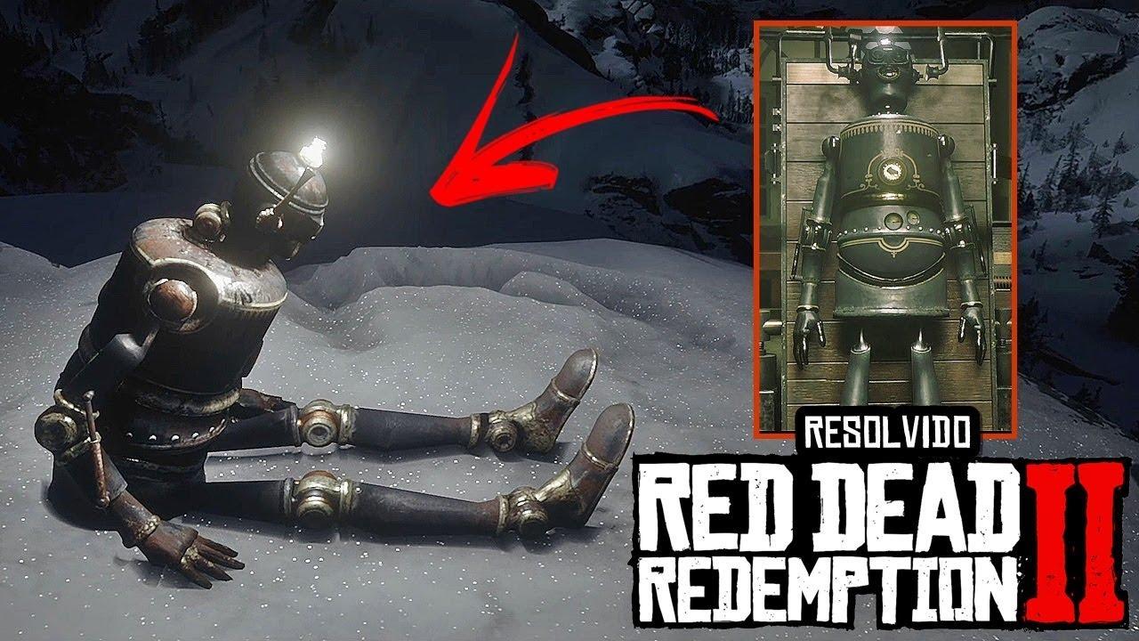 RESOLVIDO!! ROBÔ de LATA finalmente ENCONTRADO (NIKOLA TESLA) - RED DEAD REDEMPTION 2