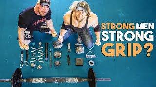 CHAMPION STRONGMAN vs. GRIP STRENGTH GAUNTLET
