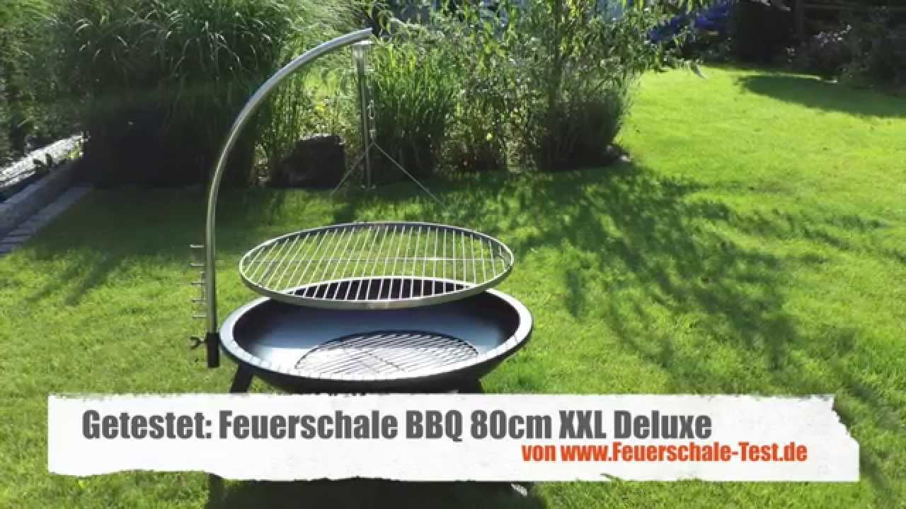 test bbq xxl deluxe grill feuerschale hd youtube. Black Bedroom Furniture Sets. Home Design Ideas