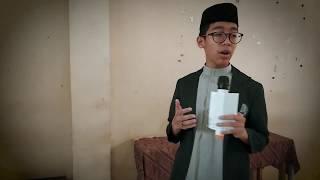 Masyaallah, Pemenang Lomba Pidato Antar Kelas