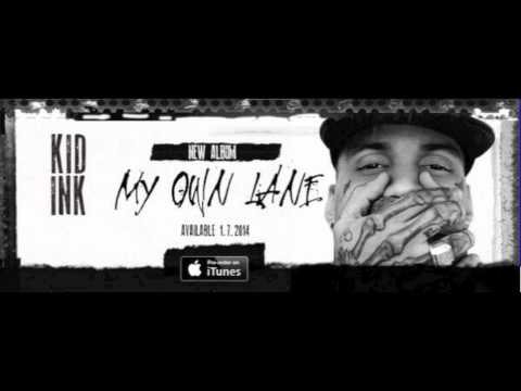 Kid Ink Ft. Tyga - Iz U Down (Prod. by DZL) - [CDQ]