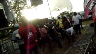 St. Kitts Inception Fete 2011 - Small Axe Band - Rum Song & Live Party Mix