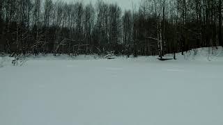 После новогодний выход на озеро