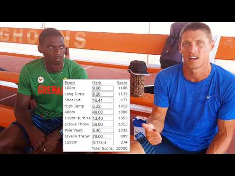 Chat #4 - Trey Hardee & Lindon Victor - #Lon2017 Decathlon