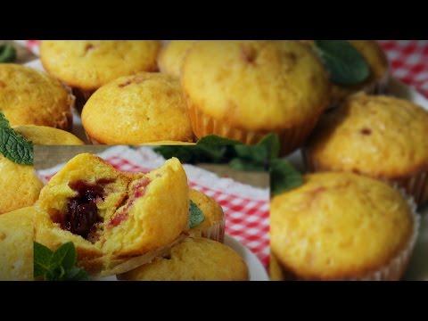 Рецепт ДОМАШНИЕ КЕКСЫ Вкусные кексы Как приготовить кекс с вишней