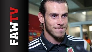 Cyprus 0-1 Wales - Gareth Bale Reaction