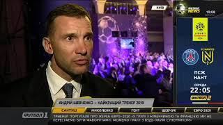 Шевченко найкращий тренер 2019 року