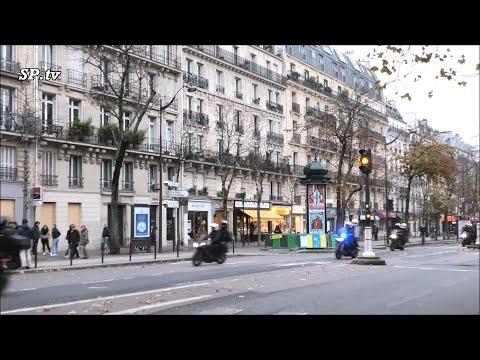 Motards Police : Les BRAV En Urgence Dans Paris