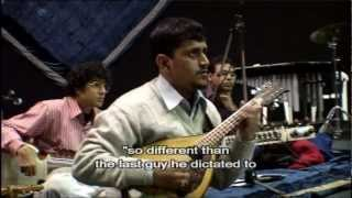 Ravi Shankar at rehearsal - From Concert for George DVD