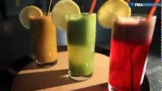 видео Рецепты напитков для похудения и очищения организма