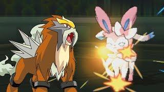 Extreme Entei | Pokemon Ultra Sun & Moon Wifi Battle