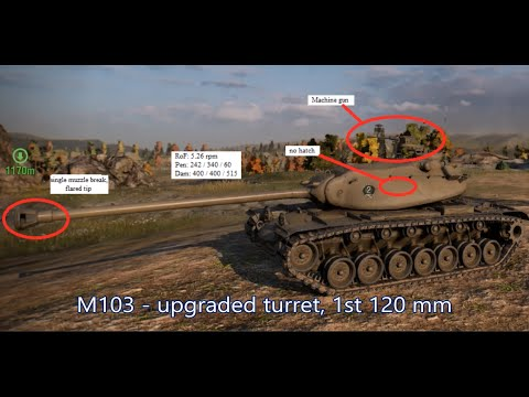 Know Your Tanks Ep. 3 - M103 // World Of Tanks Console